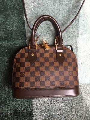LV Damier Ebene Alma BB Crossbody Bag Purse Handbag for Sale in Aurora, IL