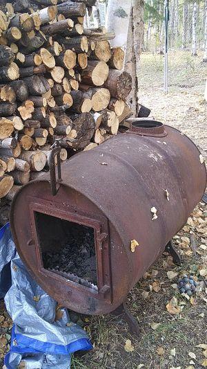 Antique barrel stove for Sale in Wasilla, AK