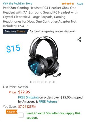 Gaming Headset for Sale in Hoffman Estates, IL