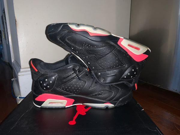 "Air Jordan's 6s retro low costume ""White Infrareds"" as the ""black infrareds"""