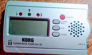 Korg guitar/bass tuner for Sale in Medford, OR
