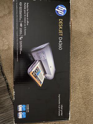 New Printer HP DESKJET D4360 for Sale in Sunnyvale, CA