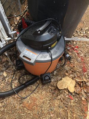 Rigid shop vac for Sale in Charlotte, NC
