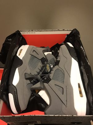 "2019 nike Air Jordan Retro 4 ""cool grey"" sz 8 for Sale in Streamwood, IL"