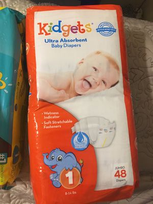 Baby diapers for Sale in San Antonio, TX
