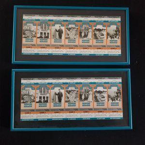 Framed Commemorative SanJose Sharks Tickets for Sale in Bellevue, WA