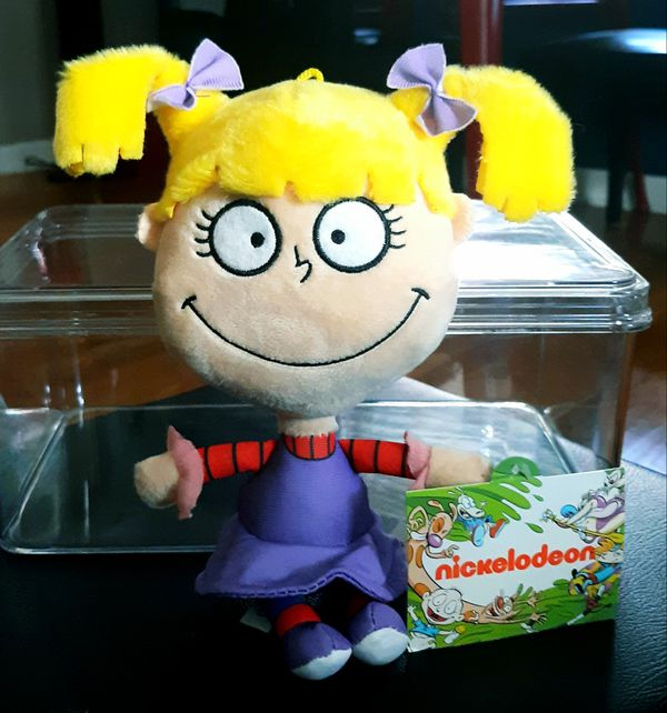 Plush Angelica from Nickelodeon's Rugrats w Tags!