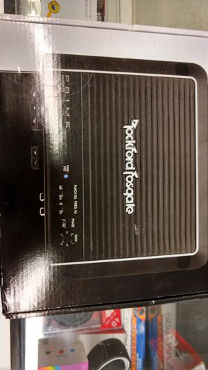 Rockford fosgate punch amplifier amp 500 watts for Sale in Bellaire, TX