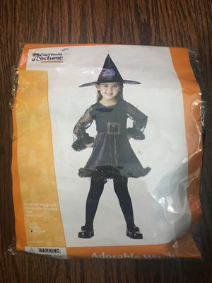 Adorable Witch Costume toddler girl for Sale in Oak Park, IL