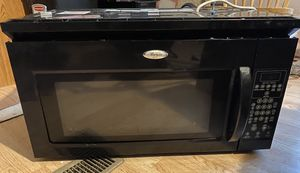 Whirlpool microwave over the range for Sale in Chicago, IL