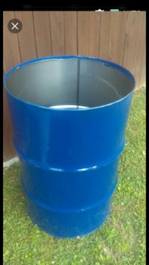 55gal Metal Burn Barrels / Garbage Cans / Drums for Sale in Knoxville, TN