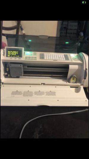 Cricut Expression 1 with 2 cricut cartridges and 1 pack of blades for Sale in Virginia Beach, VA