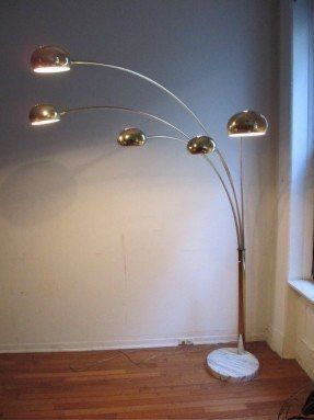 Tall floor lamp with marble base (good condition) for Sale in San Diego, CA