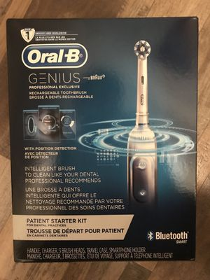 Unopened Oral-B Genius electric toothbrush for Sale in Lima, OH