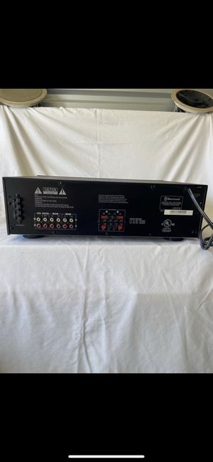 Stereo Receiver With A + B Speakers for Sale in Dallas, TX
