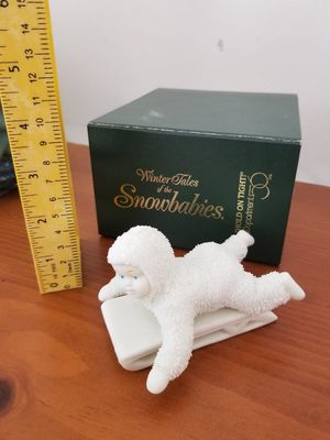 Snow Baby figurine Sled for Sale in North Chesterfield, VA
