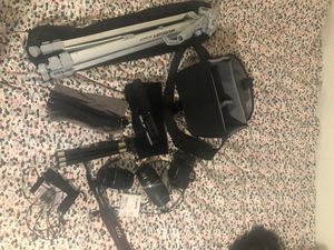 Canon EOS Rebel t6 camera and accessories for Sale in Salt Lake City, UT