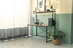 Computer Desk with Top Shelf for Sale in Santa Ana, CA