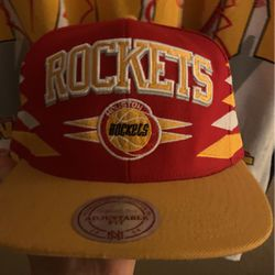 Rockets Mitchell N Ness Hat for Sale in Katy,  TX