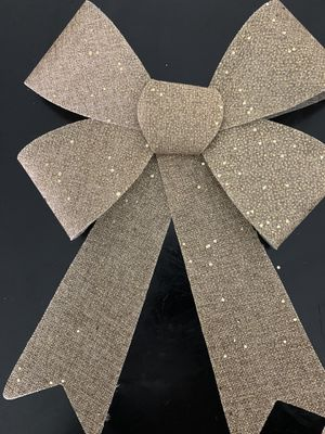 Burlap styled Christmas Bows for Sale in Miami, FL