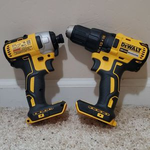 BRAND NEW NEVER USED DEWALT 20-Volt MAX Cordless Brushless Compact Drill/Impact Combo Kit (TOOL ONLY ) $$ 120 FIRM for Sale in Bakersfield, CA