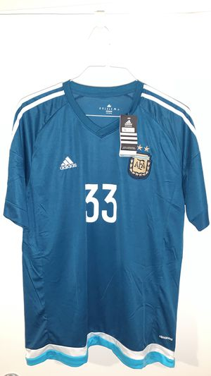 Official Adidas Argentina Away Home Jersey Large Brand New for Sale in Los Angeles, CA