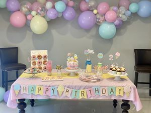 Two sweet birthday decor for Sale in Miami, FL