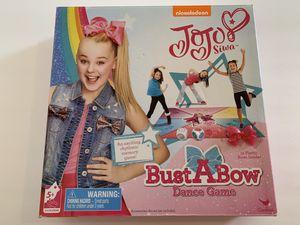 JoJo Siwa Bust A Bow Dance Game - Nickelodeon/Cardinal Kid Games for Sale in Katy, TX