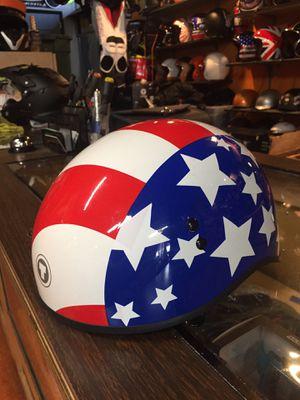 New American flag dot motorcycle helmet $40 for Sale in Norwalk, CA