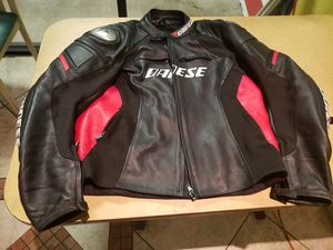 DAINESE motorcycles leather jacket for Sale in Tempe, AZ