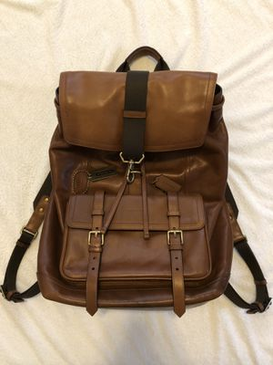 Coach Men Classic Bleecker Backpack for Sale in Seattle, WA