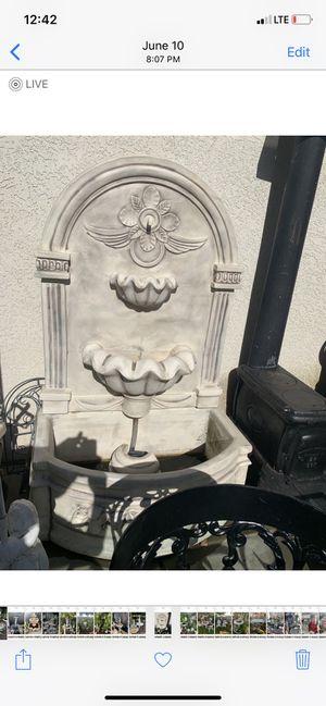 Concrete wall fountain for Sale in Clovis, CA