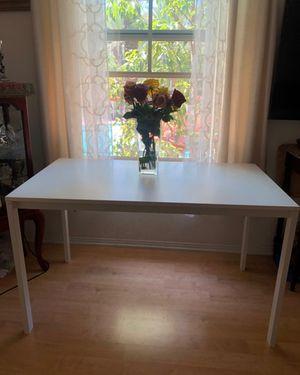 White table/desk for Sale in Irvine, CA