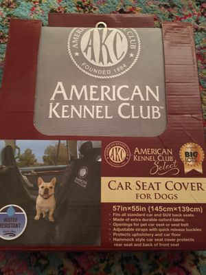 Car seat cover for dogs for Sale in Largo, FL