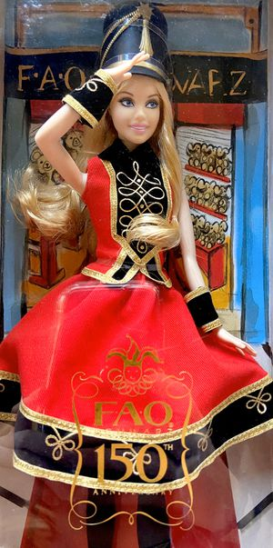 FAO Schwartz 150th Anniversary COLLECTABLE BARBIE for Sale in Scottsdale, AZ