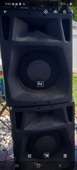 SPEAKERS EV sx500 for Sale in Tampa, FL