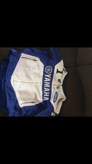 Yamaha Racing Motorcycle jacket for Sale in Waterbury, CT
