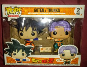 """Dragon Ball Z """"Goten & Trunks"""" Box Lunch Exclusive Funko Pop for Sale in Los Angeles, CA"""