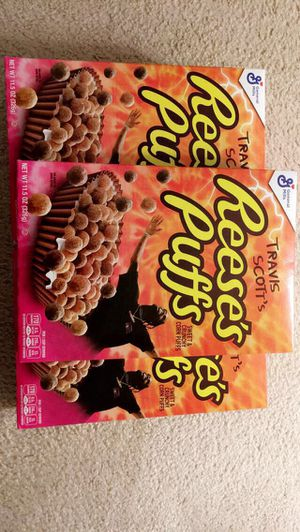Reese's Puffs Travis Scott's Special Edition for Sale in Gainesville, VA