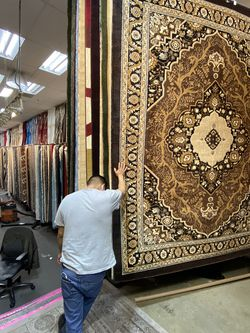 8x10 Area Rugs Carpet Rugs Persian Traditional Design Super Thick Tight Pile Colors Brown Beige Black for Sale in Los Angeles,  CA