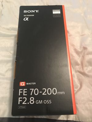 Sony 70-200mm 2.8 GM for Sale in Fort Lauderdale, FL