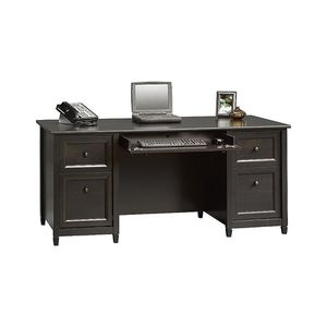 "Sauder Edge Water 65"" Executive Desk Black NIB for Sale in Mission Viejo, CA"