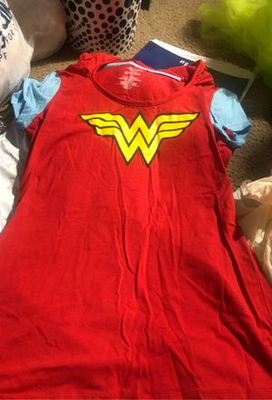 Wonder Woman shirt w/ cape for Sale in San Antonio, TX