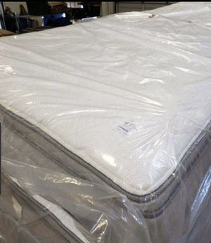 High quality $330 King size double pillow top mattress $ 280 queen size mattress for Sale in Las Vegas, NV