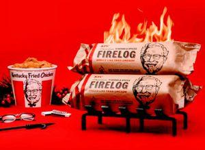 KFC Chicken 11 Herbs & Spices Firelog for Sale in Meriden, CT
