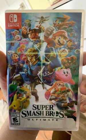 BRAND NEW SUPER SMASH BROS ULTIMATE for Nintendo Switch for Sale in Washington, DC