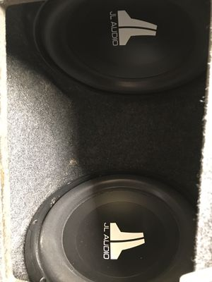 "JL subs 12"" for Sale in Las Vegas, NV"