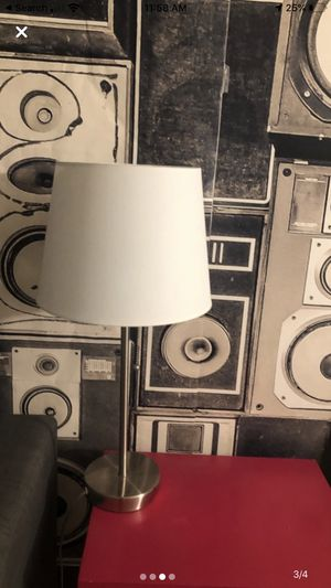 3 white lamps for Sale in Los Angeles, CA