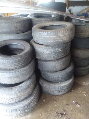 Care and truck tires used. for Sale in Belington, WV