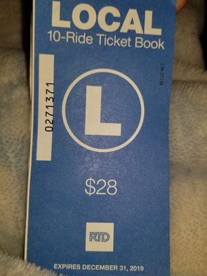 Bus tickets for Sale in Arvada, CO